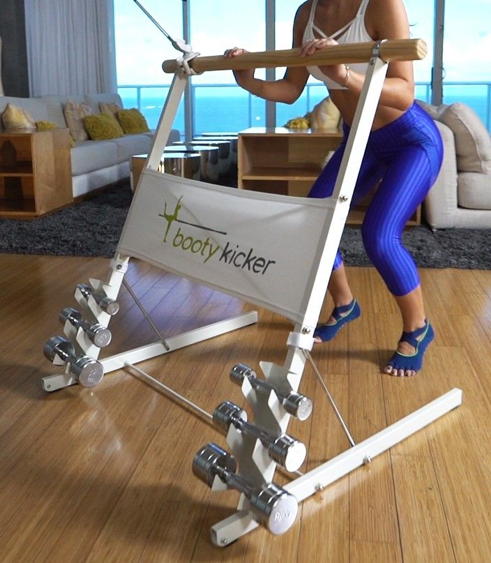 Booty Kicker Tablet//Phone holder for home exercise barres